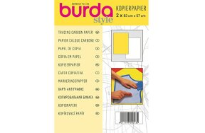 BURDA TRACING CARBON PAPER WHITE-YELLOW